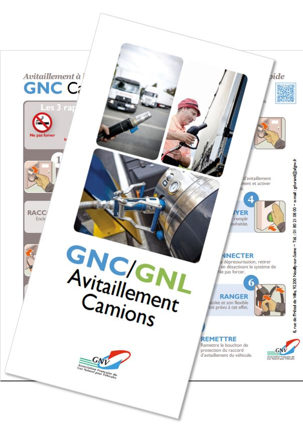 Guide pour l'avitaillement des Camions, Bus et Car au GNC ou GNL