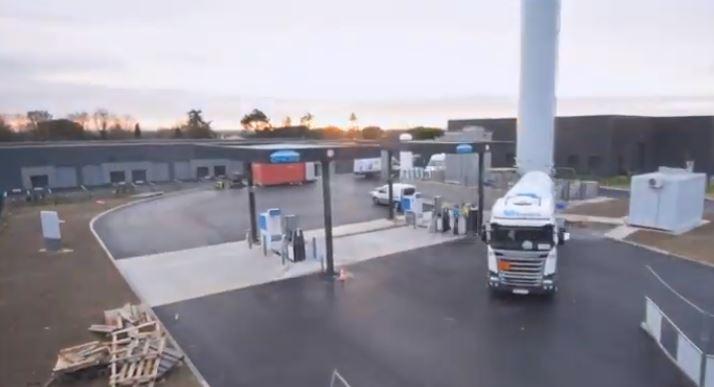 Vidéo : Construction de la station GNL-C de Bouloc