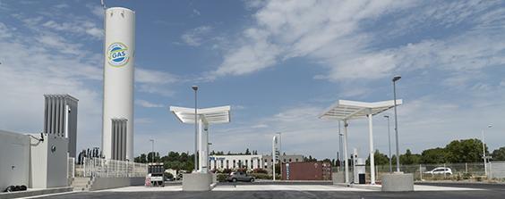 V-GAS ouvre sa 3ème station GNV à Saint Martin de Crau
