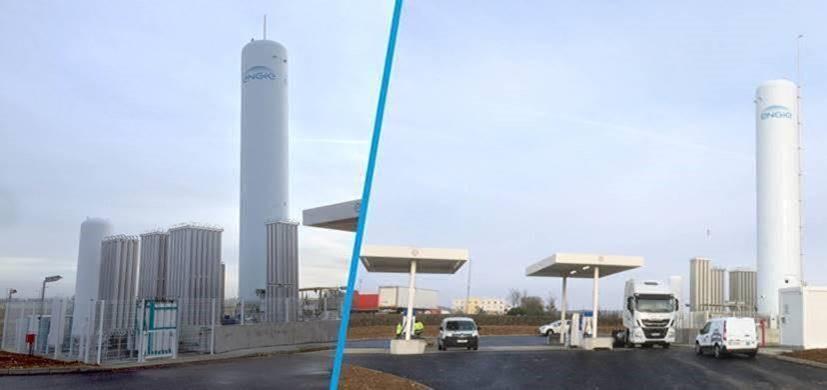 A Bourges (18), le 25 Février 2019, GNVert ouvrira une nouvelle station distribuant à la fois du GNL et du GNC/BioGNC
