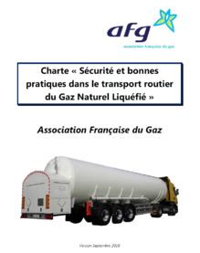 L'Association Française du Gaz s'engage pour la sécurité dans le transport routier du Gaz Naturel Liquéfié en France