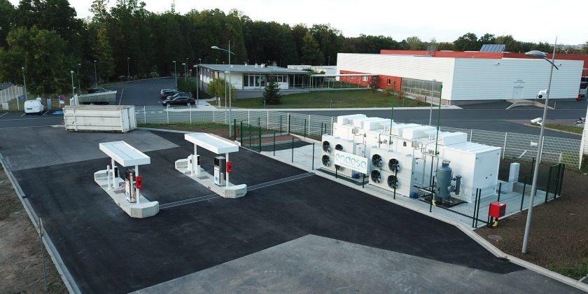 Le 19 octobre 2018, la Communauté d'Agglomération Sarreguemines Confluences (CASC) et Endesa ont inauguré une station GNV/bioGNV sur le territoire de l'agglomération