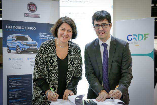 Nos adhérents Fiat et GRDF signent un partenariat pour développer le Gaz Naturel Véhicules