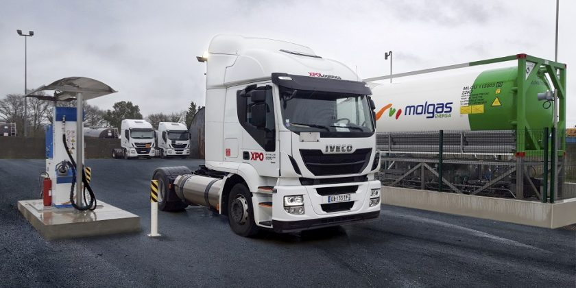 Blu-Box, la station privative GNL de Molgas Energia arrive en France