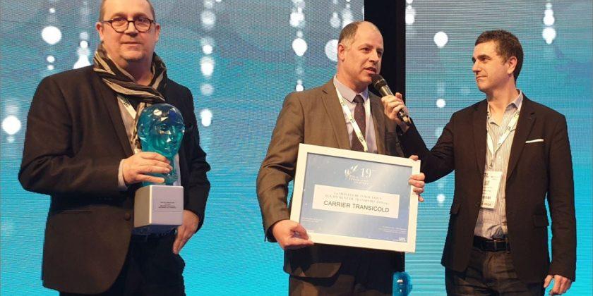 Carrier Transicold remporte le Prix de l'Innovation du Salon SITL Europe avec le groupe frigorifique Supra® CNG alimenté au Gaz Naturel Comprimé