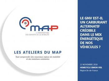 Les actes de l'atelier du MAP sur le GNV/bioGNV sont maintenant disponibles gratuitement