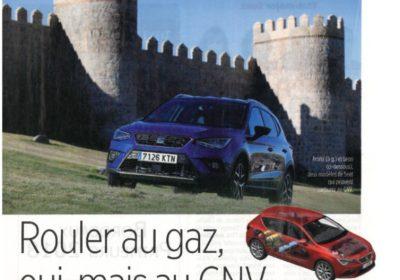 Pour le magazine Le POINT : «Rouler au gaz, oui, mais au GNV