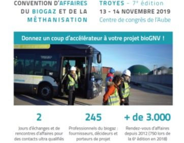 Vous souhaitez dynamiser votre territoire et décarboner vos transports en commun ? rendez vous le 13/11/2019 à Troyes !