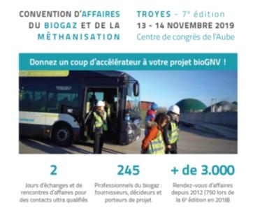Le 13 novembre 2019, échange d'expériences sur le GNV-bioGNV dans le transport collectif urbain