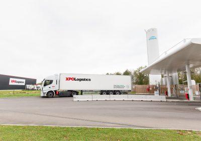 XPO Logistics élargit sa flotte de véhicules propres avec 100 nouveaux tracteurs Stralis NP 460