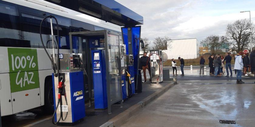 Les Bretons roulent au GNV vers les Assises Européennes de la Transition Energétique