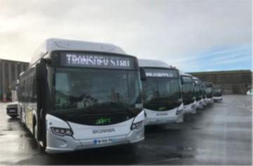 Des Scania Citywide Low Floor GNC pour Nantes et Saumur