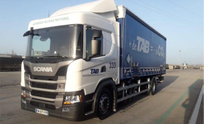 Occitanie PL livre 5 Scania G 280 GNC à TAB Rail Road