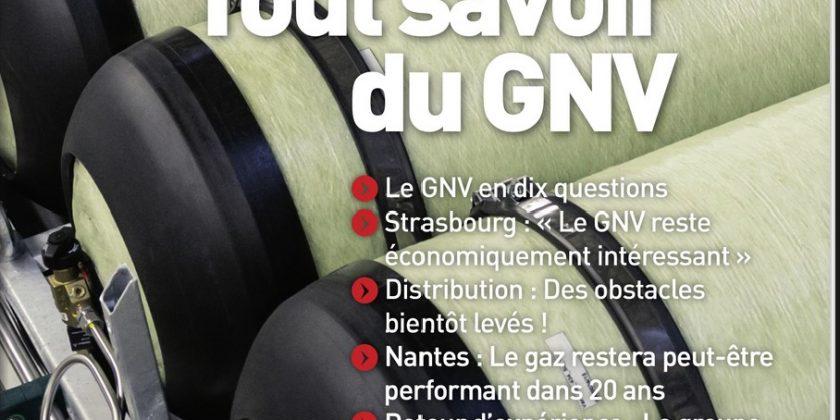 Avril 2020 : MOBILITÉS magazine publie un hors-série thématique sur le GNV