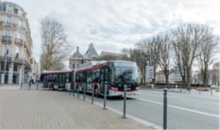 13 nouveaux autobus Scania Citywide GNV en exploitation à Lille