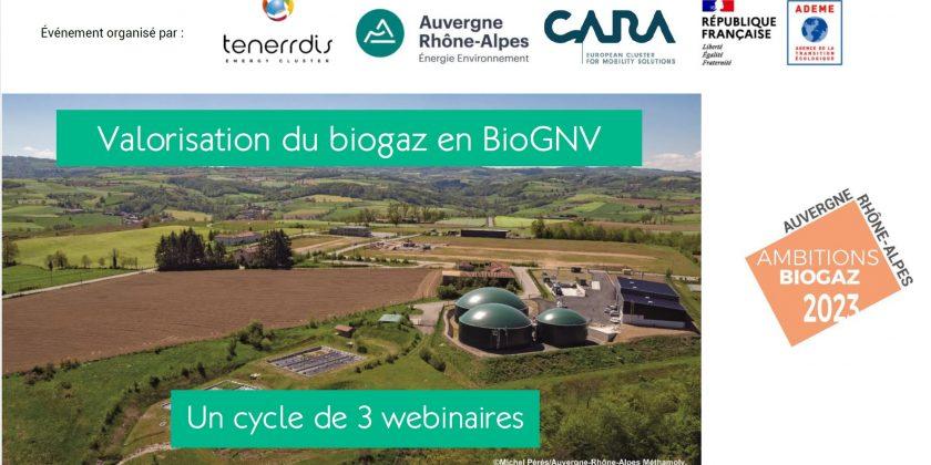 Visionnez, à votre rythme, les 3 séminaires web : «Du biogaz au bioGNV»