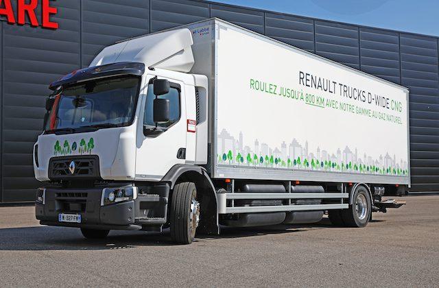 TRM24 a testé le Renault Trucks D Wide GNC sur 1000 kms !