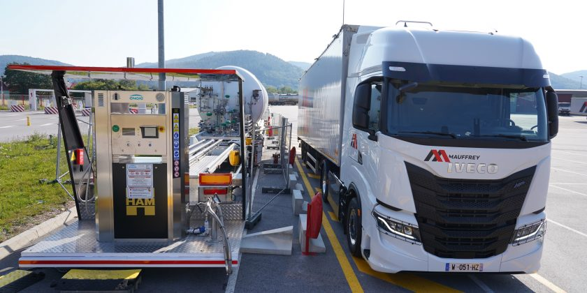 Le Groupe Mauffrey, réceptionne son premier IVECO S-WAY NP (Natural Power)