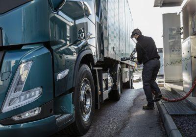 Volvo Trucks assiste à une augmentation de l'intérêt pour l'utilisation du gaz comme carburant alternatif au Diesel pour les activités poids lourd en Europe