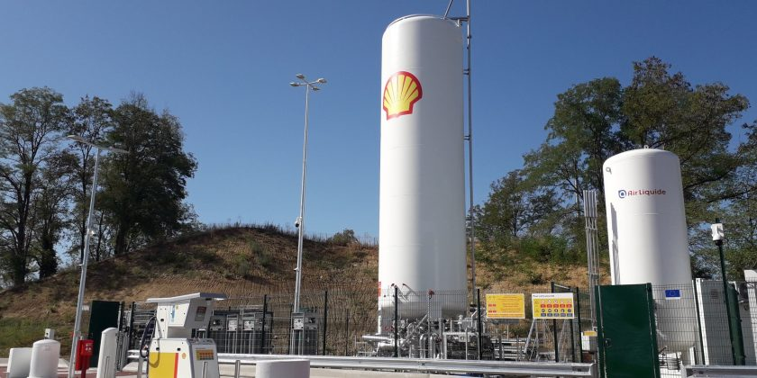 Shell France ouvre sa première station GNL sur l'aire d'autoroute de Mionnay