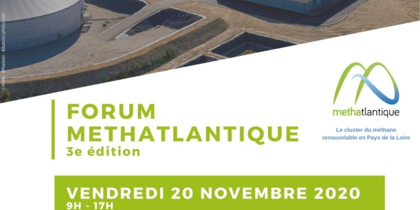 3ème édition du Forum Méthatlantique le 20 novembre 2020