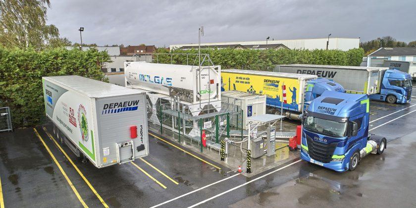 La solution GNV « clé en main » Blu-Box, de Molgas Energia, séduit les Transports DEPAEUW