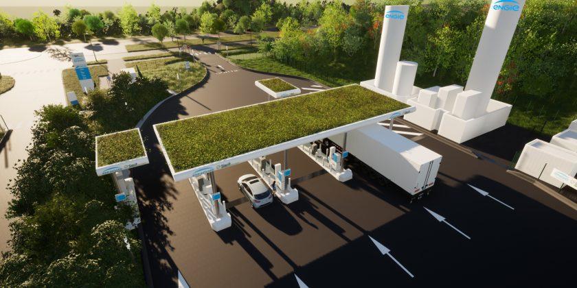 SIGEIF Mobilités et l'EPA Sénart ont retenu ENGIE Solutions et son offre de mobilité durable gaz GNVERT, pour construire la station d'avitaillement GNV/bioGNV de REAU (77)