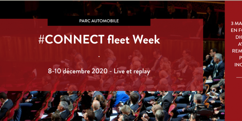 L'AFGNV participera au congrès #CONNECT fleet organisé par le magazine L'Automobile & L'Entreprise
