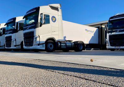 Les Transports BERTHAUD, complètent leur flotte Volvo avec deux FH GNL