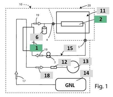 Esametal brevette un système de réfrigération pour semi-remorques tractés par des camions GNL