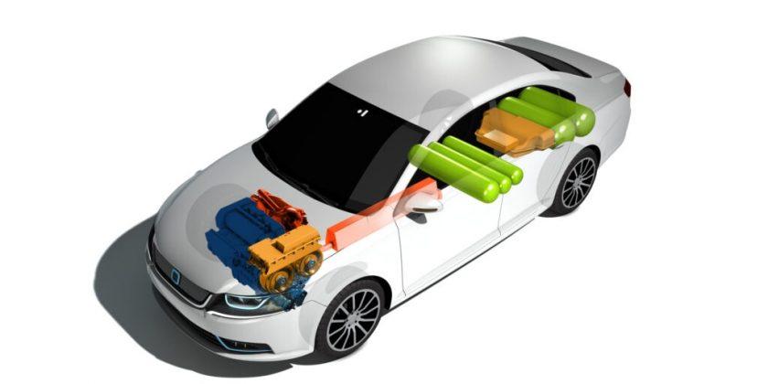 Les ingénieurs de l'IAV mettent au point un véhicule hybride GNV/électrique haute performance