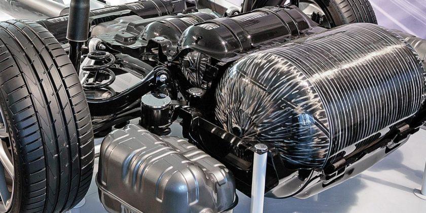 Plastic Omnium développe un système de mesure de la quantité résiduelle de gaz comprimé dans un réservoir, offrant une précision accrue à moindre coût