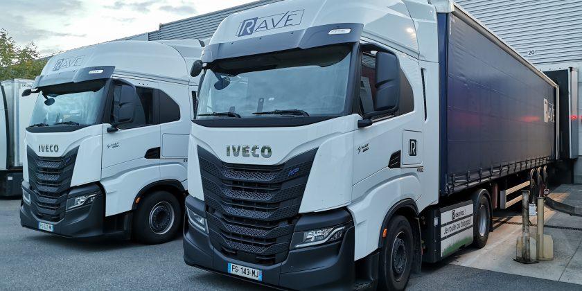 Un cinquantième tracteur IVECO GNC pour le Groupe RAVE