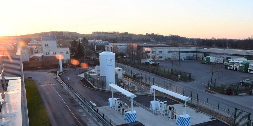 Avec la première station GNV en France sur site postal, Viapost passe au vert avec ENGIE Solutions
