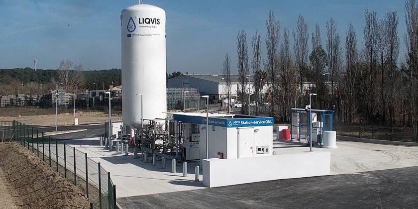 LIQVIS ouvre une  station-service GNL à Bouc-Bel-Air (13320)