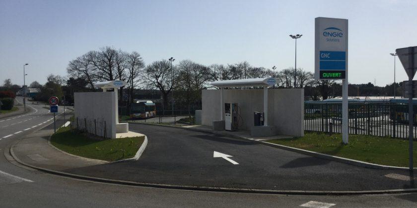 Mobilité verte : Quimper Bretagne Occidentale ouvre au public une station Gaz Naturel pour Véhicules avec ENGIE Solutions