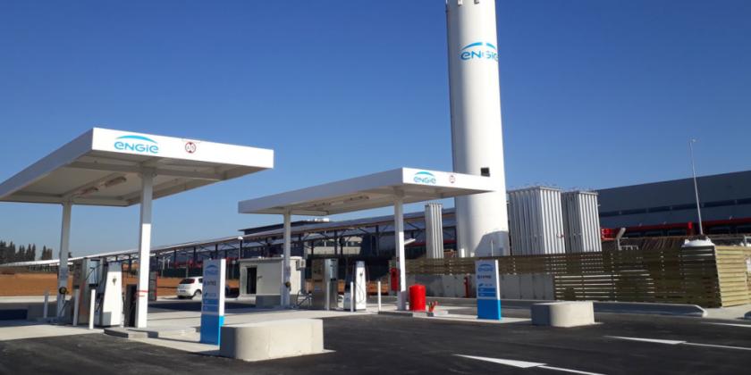 DKV s'associe à ENGIE Solutions pour ouvrir les portes du réseau de carburant GNV français aux transporteurs européens