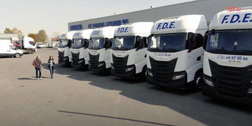 GNV Mag' – Edition spéciale : Livraison de 13 camions GNV pour FDE