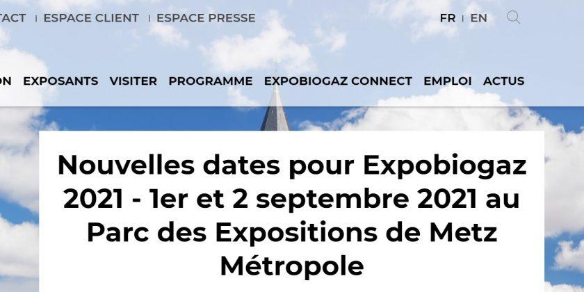 A Expobiogaz 2021, faites le tour de la filière bioGNV en 1h30 chrono avec l'AFGNV !