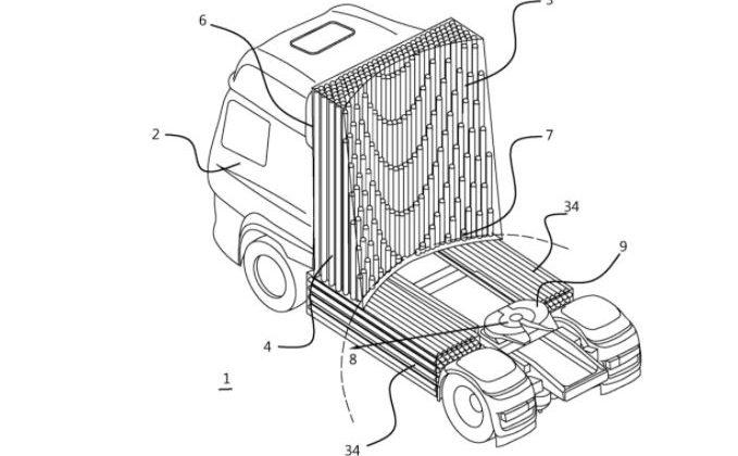 DAF dépose un brevet sur une nouvelle disposition de réservoir conformable pour poids-lourd