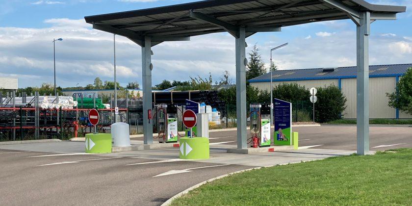 Gaz'up ouvre une station publique multi-énergies renouvelables à Digoin, Saône-et-Loire